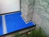 Znojmo- terasa s lepenou dlažbou na rohoži (4)